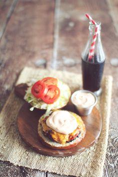 """Skinny """"Big Mac"""" Burger {Clean Eating}"""