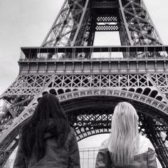 Best friends in Paris. @hippichic1 @Annalise Furman Hunnicutt @Bonnie Domingos This will be you guys one day. :) <3