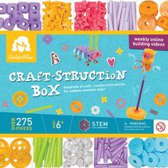 A craft-struction box! STEM Engineering!