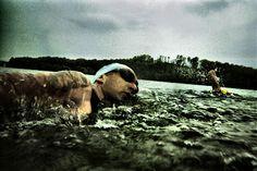 Triathlon swim.