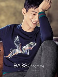 Actor Ji Soo completes the boyfriend look in a new photo shoot for 'BASSO HOMME' | allkpop.com