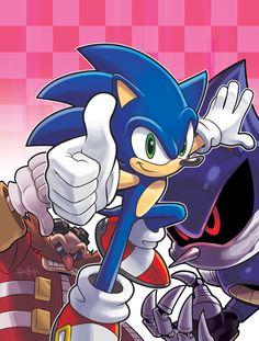 Sonic Super Special Magazine #3 by Ben Bates *