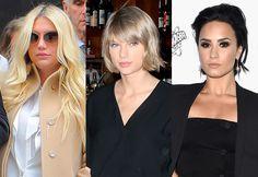 Demi Lovato explica polêmica envolvendo doação de Taylor Swift a Kesha – Blog do Deill