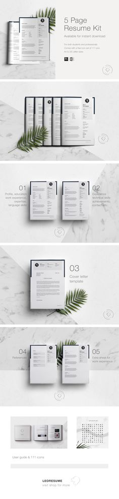 Resume Template For SelfPromotion Icons By Tolgahan Yurtseven