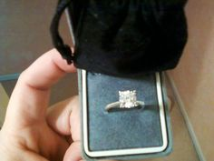 """Kitti: """"...smells absolutely wonderful. This is a real diamond in my ring. It is stamped with 14kt white gold and has a 1ct also stamped inside. It is a solitaire brilliant cut and my moms jeweler says it is worth About 2000 dollars to 3500.. I sent it off today to be re sized. When i go to pick it back up he will have appraisal certificate for it also. I'm still so excited I found a real diamond. I have bought more then 20 candles... I love all my rings."""""""