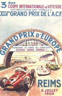 079GP - XLV Grand Prix de L'A.C.F. - XIX Grand Prix d'Europe - 1959