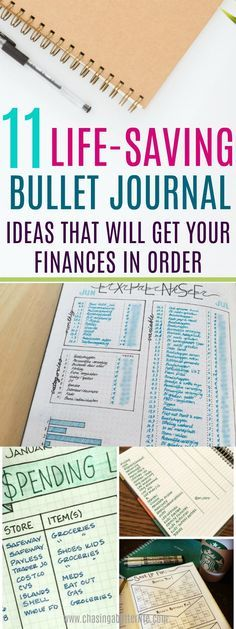 11 Life-Saving Bullet Journal Ideas That Will Get Your Finances In Order