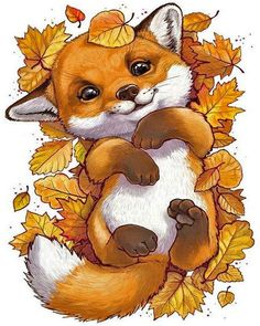 Tierillustration Tiere Tiere Best Picture For funny photo clean For Your Ta Cute Animal Drawings, Cute Drawings, Cute Fox Drawing, Drawing Animals, Pencil Drawings, Halloween Art Projects, Halloween Drawings, Halloween History, Halloween Illustration