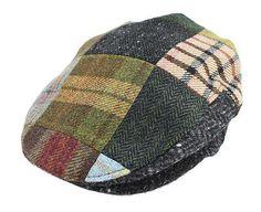 f80cd62f619 New Patchwork Cap Tweed Traditional Irish Cap Made in Ireland John Hanly  Caps For Women