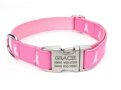 How cute!! Check it out here! #Itsadogthing http://www.barklabel.com/products/breast-cancer-awareness-dog-collar-with-personalized-buckle?utm_campaign=social_autopilot&utm_source=pin&utm_medium=pin www.barklabel.com