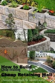 How To Build Cheap Retaining Wall Ideas Di 2020