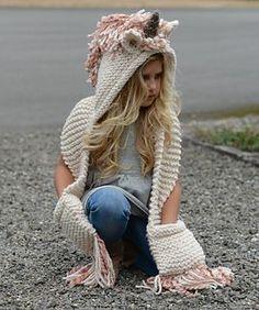 Unice Unicorn Hood by Heidi May <3