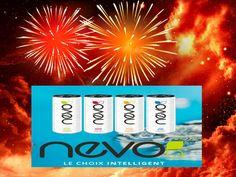 NEVO est une boisson énergétique innovante et unique,  qui offre une nouvelle vision de la vitalité en quatre formules rafraîchissantes