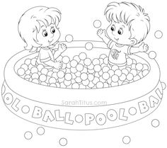 Free Summer Fun Coloring Pages For The Kids