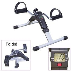 EXERCISE PEDDLER WITH ELECTRONIC DISPLAY | Better Senior Living