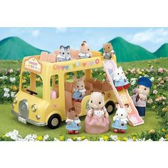 [SF] Nursery Double Decker Bus buy on Sylvanian Families. , offer Sylvanian Families at discounted rate in Sylvanian Families