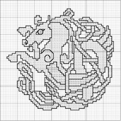 Blackwork Embroidery, Hand Embroidery Patterns, Cross Stitch Embroidery, Crochet Patterns, Celtic Cross Stitch, Cross Stitch Charts, Cross Stitch Patterns, Quilt Stitching, Cross Stitching
