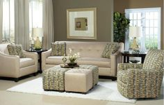 706950 in by Craftmaster Furniture in Foley, AL - Craftmaster Living Room Stationary Sofas, Two Cushion Sofas