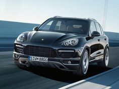 2013 Porsche Cayenne Turbo SUV  if i ever become a mom this will be what I drive my kids around in.