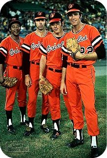 Cuellar, Dobson, McNally and Palmer, all 20 game winners in 1971 for the Orioles