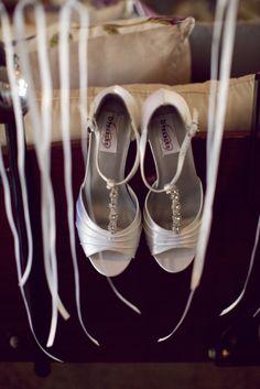Pretty shoes from a Sugar Beach Events bride.