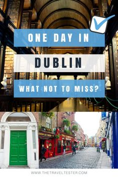 One day in Dublin? S