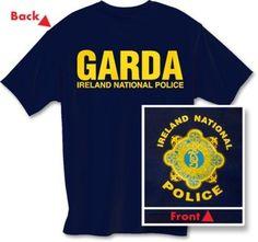 098e31ab7 Garda Irish Police Short Sleeve Tee Tshirt Large New | eBay Silver Claddagh  Ring, Claddagh