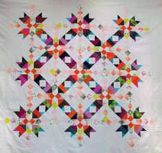 chicopee closeup | by Sharon Challenger | #quilt