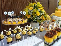 Detalhes de Festa: Festa da abelhinha