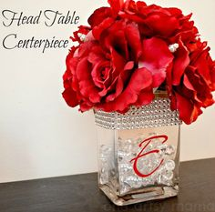 Head Table Centerpiece - David Tutera Bridal | One Artsy Mama