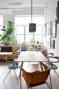 New York Home Tour: A Raw, Eclectic Brooklyn Loft | Apartment Therapy