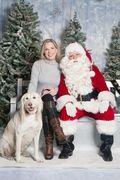 Merry Christmas 2012! Me and my dog!
