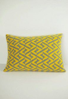 Oblong Geo Cushion