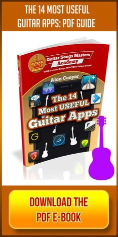 The 14 Best Guitar Apps Free E Book Download Guitar Guitarist Guitars Guitarlessons Guitarle Guitar Songs Online Guitar Lessons Acoustic Guitar Chords