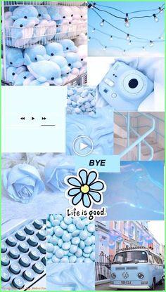 Hintergrundbilder Iphone Pastell - blue aesthetic background - - My list of quality wallpaper