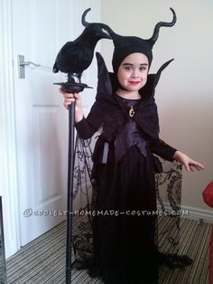 Our own 4yr old Maleficent