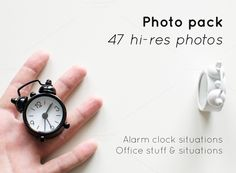 [Photo set] 47 Clock & office photos by Knofe on @creativemarket