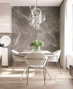 Get inspired by these dining room decor ideas! From dining room furniture ideas, dining room lighting inspirations and the best dining room decor inspirations, you'll find everything here! Luxury Dining Room, Dining Room Lighting, Dining Room Design, Dining Rooms, Modern Dining Room Furniture, Contemporary Dining Chairs, Kitchen Lighting, Modern Contemporary, Modern Design