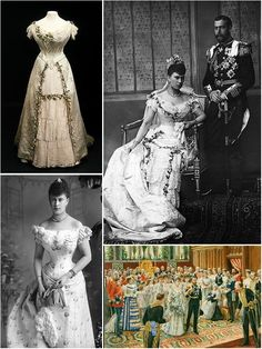 Iconic Wedding Dresses : Queen Mary of Teck, 1893