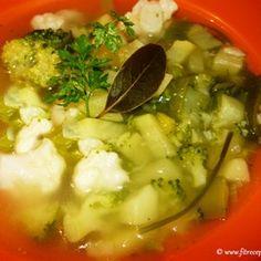 Karfiolovo brokolicová DETOX polievka