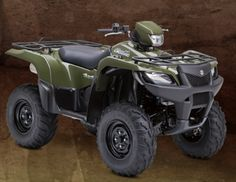 The new 2014 Suzuki KingQuad 750AXi carries on the tradition of performance that rules. It's engineered to tackle the toughest jobs and nastiest trails without breaking a sweat. It's loaded with technologically advanced features for impressive all-