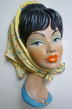 50s style wall mask