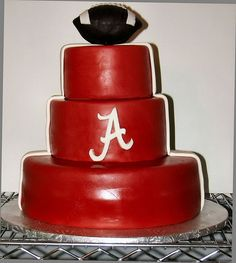 Bama football side by Cakes by AmyBeth, via Flickr