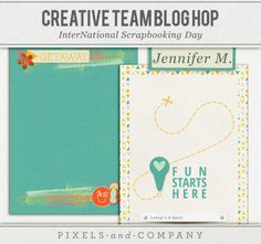 Free Bermuda Triangle Journal Cards {Pixels & Company Blog Hop}