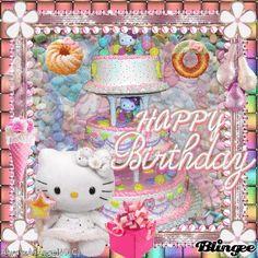 Pink- Happy Birthday Hello Kitty ((alwaysanangel69))©®