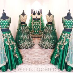 Well groomed inc# wedding collection # bridal collection # green fever