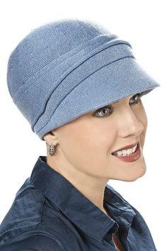 All Cotton Helen Hat - Newsboy Peak Cap