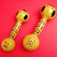 kokeshi iron dumbbell