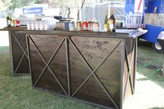 X Line Bar  #baridea #bardesign #cheers #cocktailhour #bar #cocktailtable #cocktail #cocktails #cheers Blue Grass Fest-2