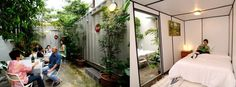 In Malaysia, containers pop up as budget hotel rooms